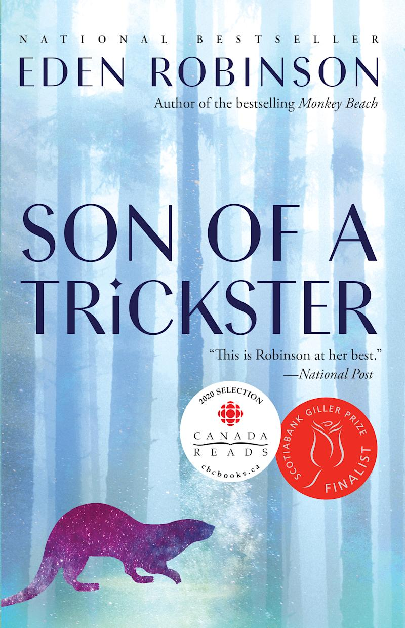 Son of a Trickster by Eden Robinson. Image via Indigo.