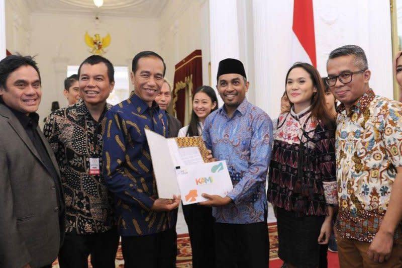 Presiden Jokowi sebut kepergian Glenn sebagai kehilangan besar