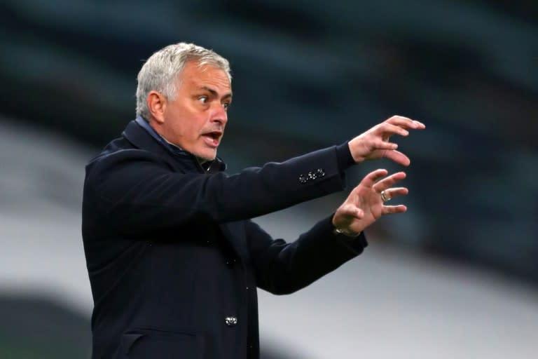 Spurs boss Mourinho says no revenge mission ahead of Man Utd trip