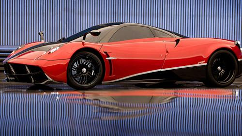 Michael Bay Unveils Pagani Huayra For 'Transformers 4′