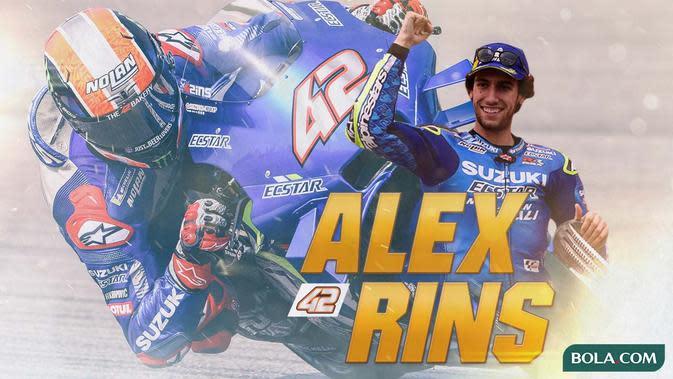 MotoGP - Alex Rins (Bola.com/Adreanus Titus)