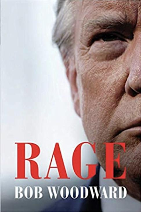 Bob Woodward's book Rage on US President Donald Trump.