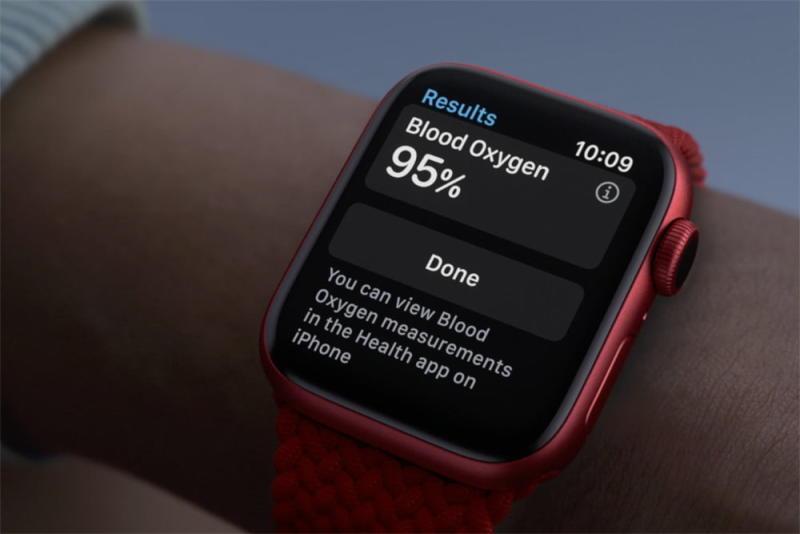Apple Watch 6 fitness
