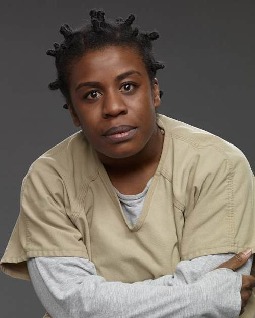 Uzo Aduba as Suzanne 'Crazy Eyes' -- Netflix