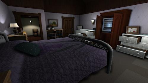 "This photo provided by The Fullbright Company shows a scene from the video game, ""Gone Home."" (AP Photo/The Fullbright Company)"