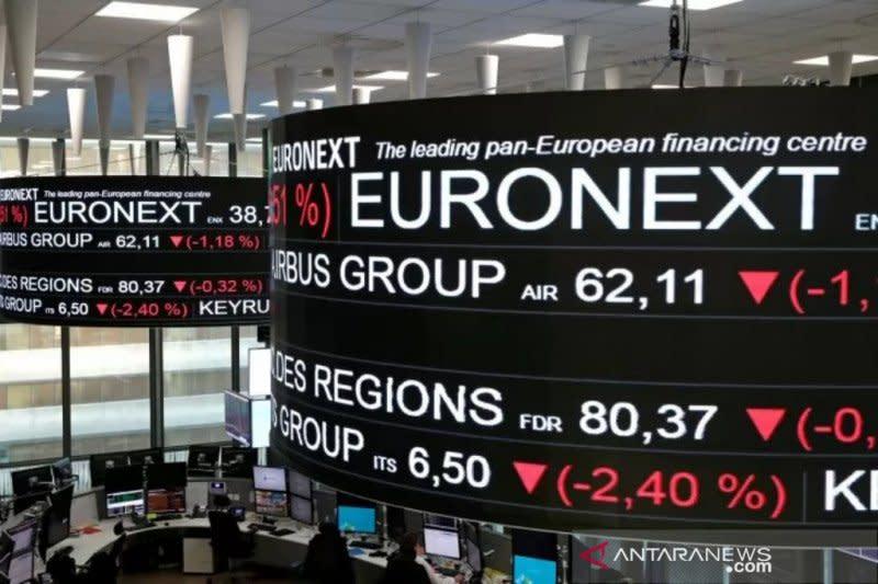 Saham Prancis kembali terpuruk, indeks CAC 40 jatuh 1,43 persen