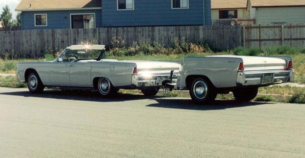 A Lincoln Continental, divided: Flickr photo of the day