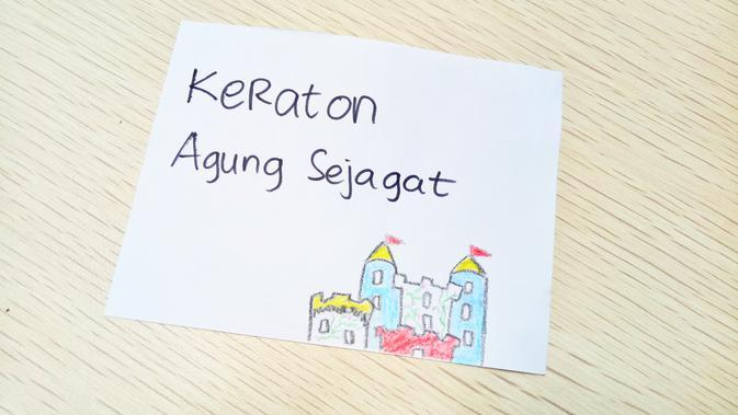 Ilustrasi Keraton Agung Sejagat. (Liputan6.com/Rita Ayuningtyas)