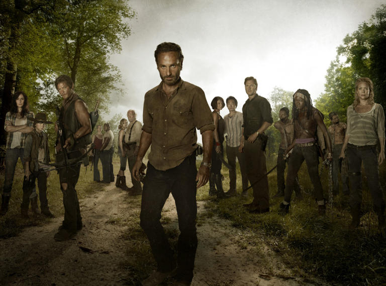 "Best TV Shows of the Year: ""The Walking Dead"""