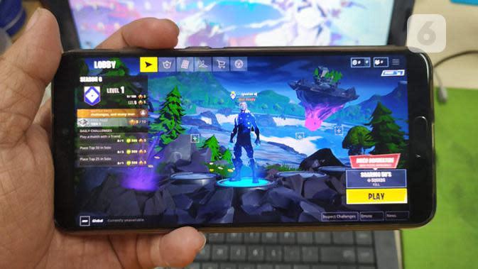 Fortnite resmi meluncur di perangkat Android. Liputan6.com/ Yuslianson