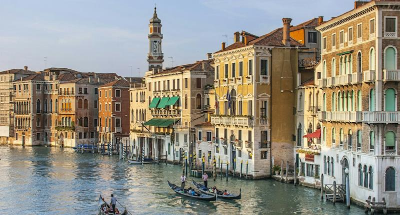 Venice (pictured) could soon introduce an odd new law