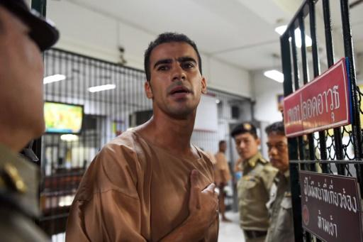 Hakeem al-Araibi, a refugee footballer who was detained and under threat of extradition to Bahrain, claimed he was targeted for criticising Sheikh Salman