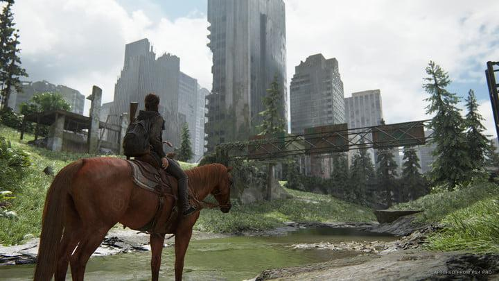 Screenshot from The Last of Us Part II