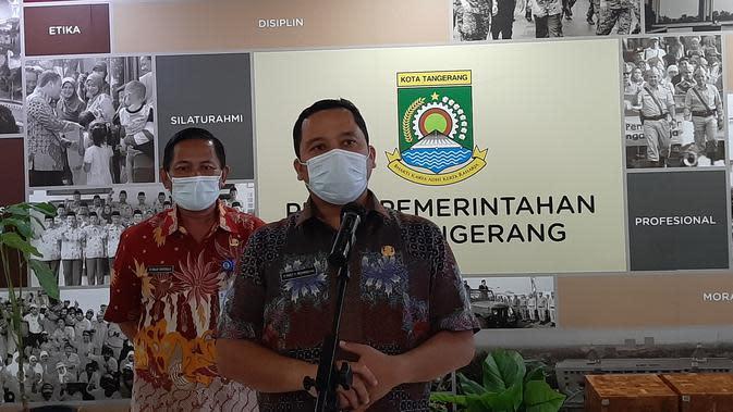 Wali Kota Tangerang Arief R Wismansyah. (Pramita Tristiawati/Liputan6.com)