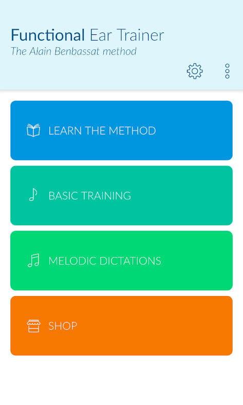 Functional Ear Trainer app