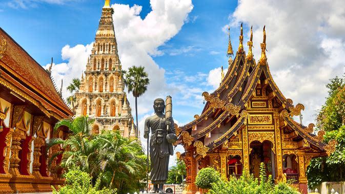 Pariwitasa di Thailand. (dok. Mathew Schwartz/Unsplash/Adhita Diansyavira)