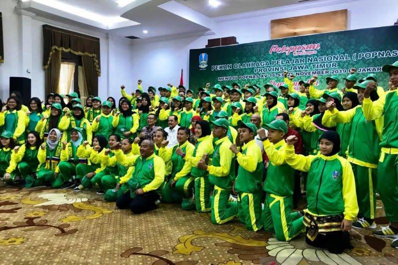 Kontingen Jatim targetkan juara umum Popnas 2019