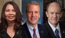 美國跨黨派3名參議員明訪台 外交部、AIT:將會晤我政府高層交換意見