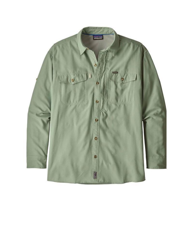 Patagonia Men's 50+ UPF Sol Patrol Long Sleeve Button Down Shirt (Photo: Amazon)
