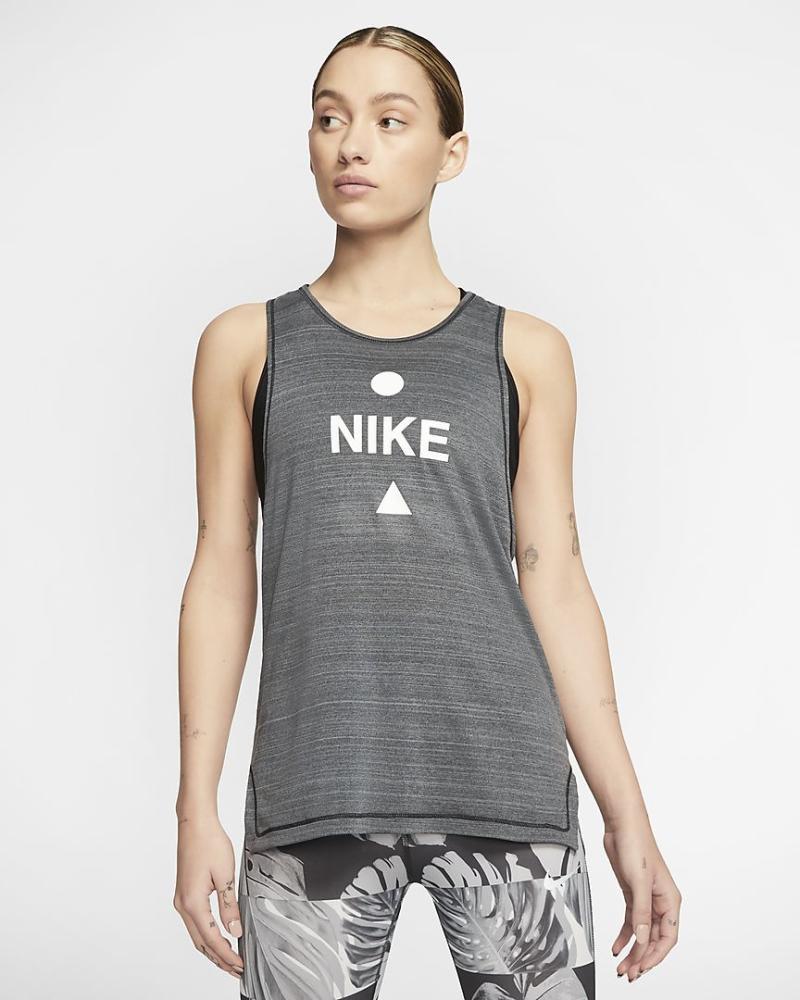 Icon Clash Women's Running Tank. Image via Nike.