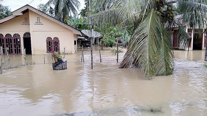 BNPB: 3 Provinsi Dilanda Banjir Akibat Hujan Deras