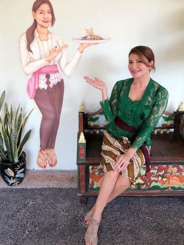 Potret Warung Makan Tamara Bleszynski yang Kembali Buka (sumber:Instagram/tehmanisbali)