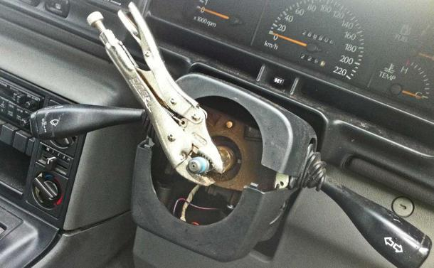 Using pliers instead of a steering wheel? You're doing it wrong