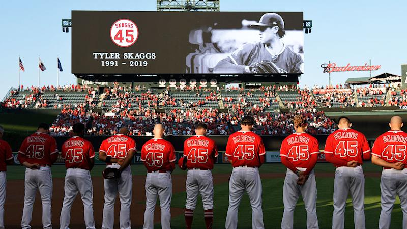 Tyler Skaggs' death in July rocked the MLB.