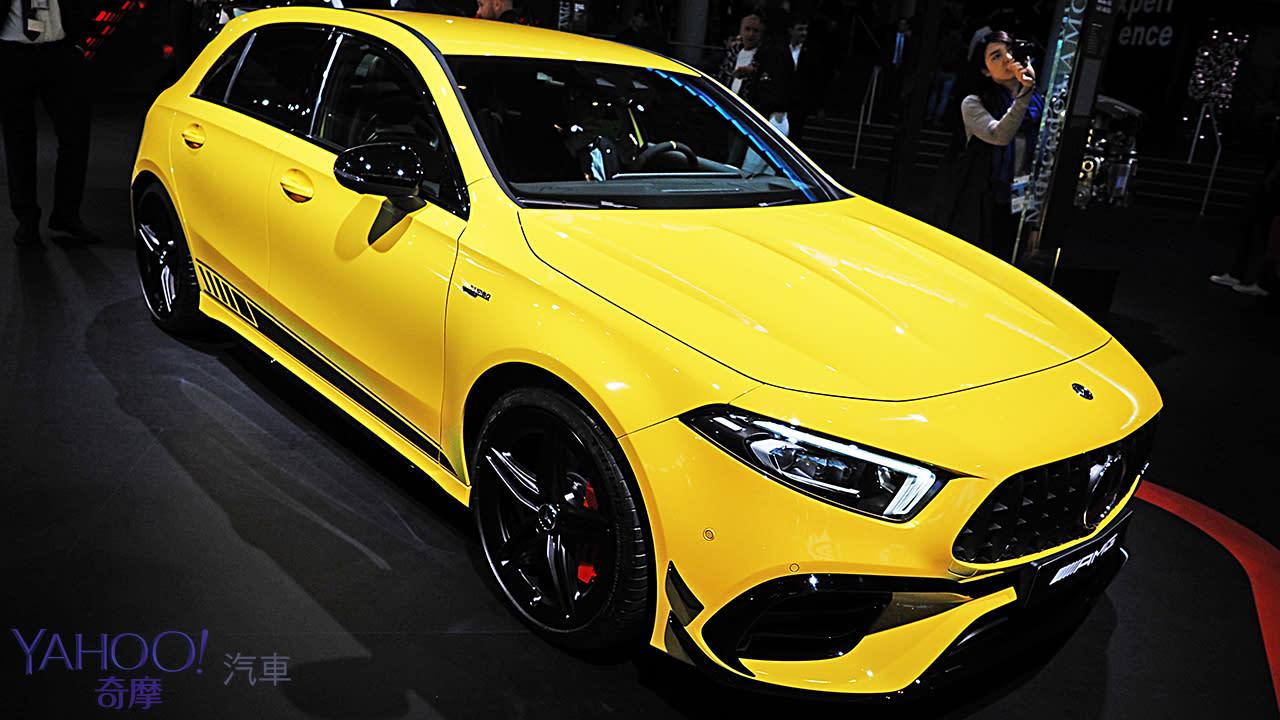 【2019法蘭克福車展】以下犯上的狂野實力!Mercedes-AMG全新A45系列猛暴亮相!