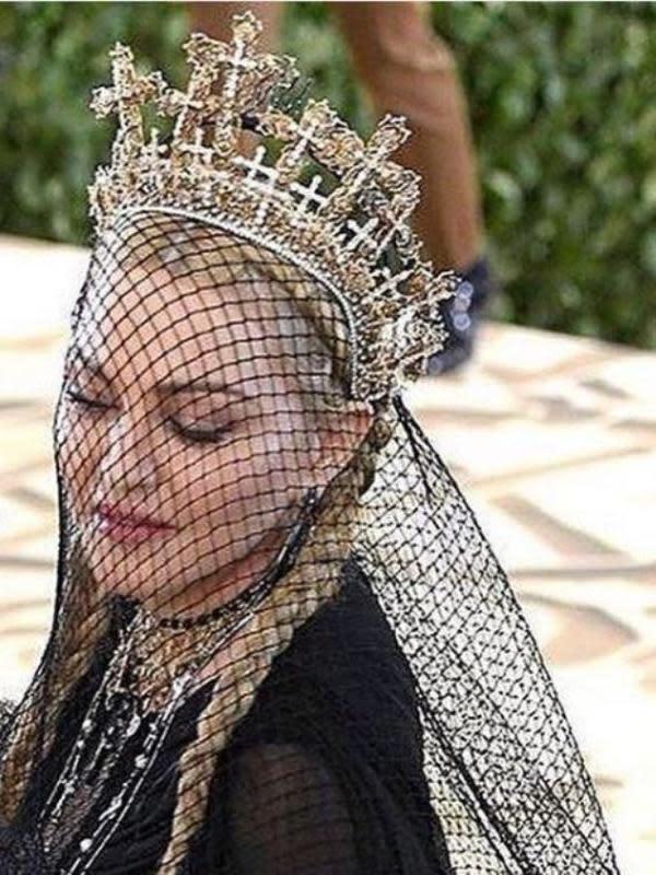 Madonna di Met Gala 2018. (dok.Instagram @rinaldyyunardi/https://www.instagram.com/p/BxJVc6WDXvM/Henry