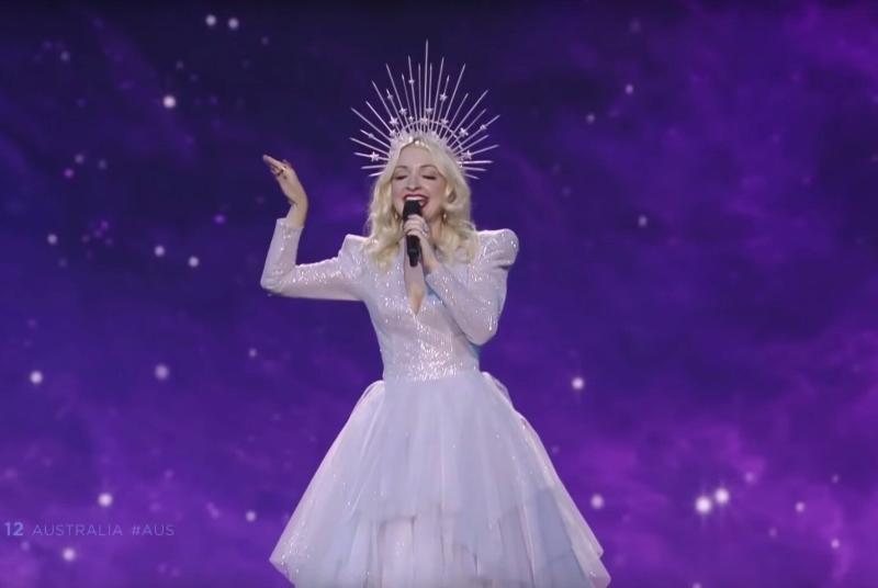 Australia's Kate Miller-Heidke makes the Eurovision 2019 grand final