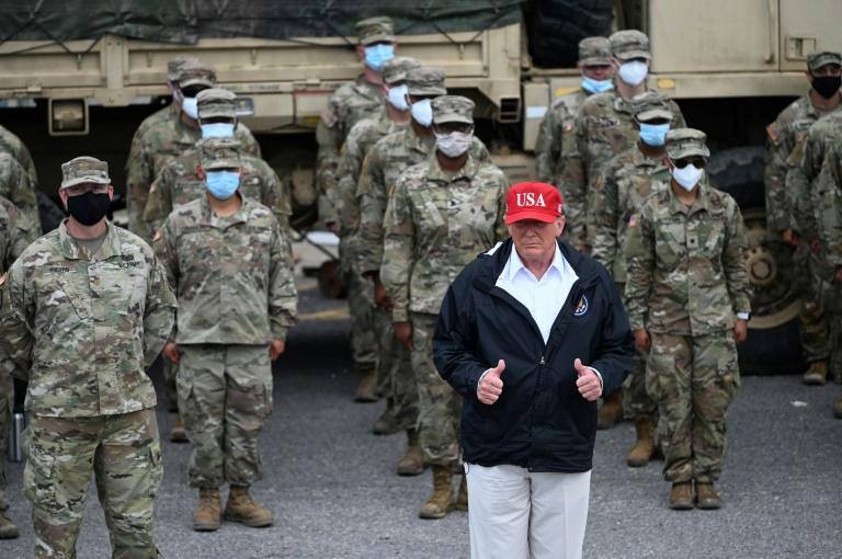 Trump says not one complaint about Hurricane Laura response