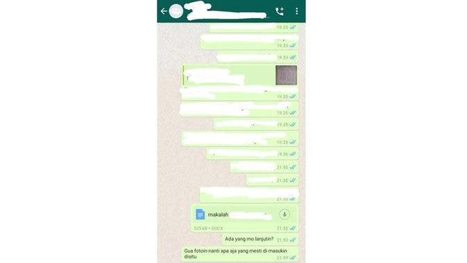 5 Chat Kerja Kelompok Ini Kasihan Banget, Bikin Geregetan (sumber: Twitter.com/collegemenfess)