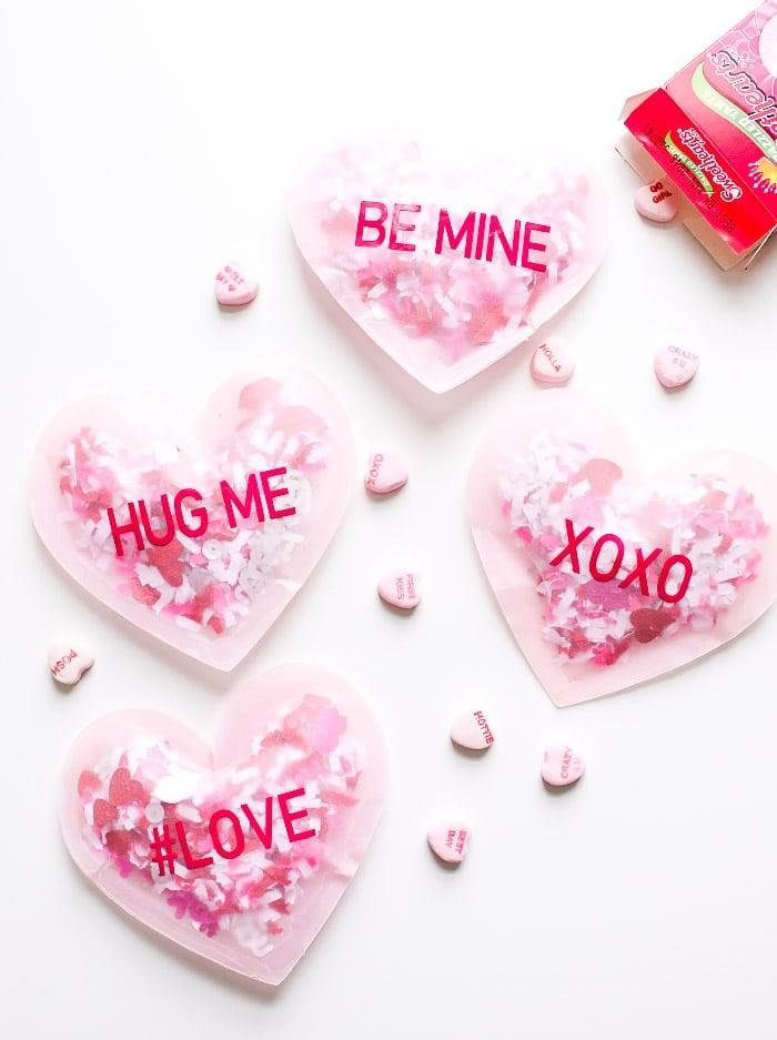 """<p>How adorable are these <a href=""""https://www.lovefromtheoven.com/confetti-conversation-heart-valentine/"""" target=""""_blank"""" class=""""ga-track"""" data-ga-category=""""Related"""" data-ga-label=""""https://www.lovefromtheoven.com/confetti-conversation-heart-valentine/"""" data-ga-action=""""In-Line Links"""">confetti conversation hearts</a>?!</p>"""