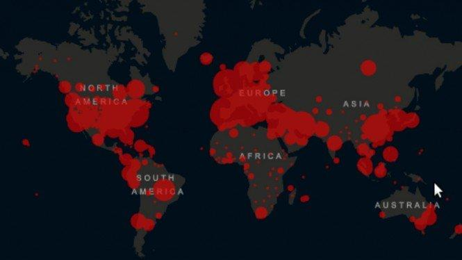 Kasus COVID-19 Terus Bertambah, Indonesia Kini di Posisi ke-26 Dunia