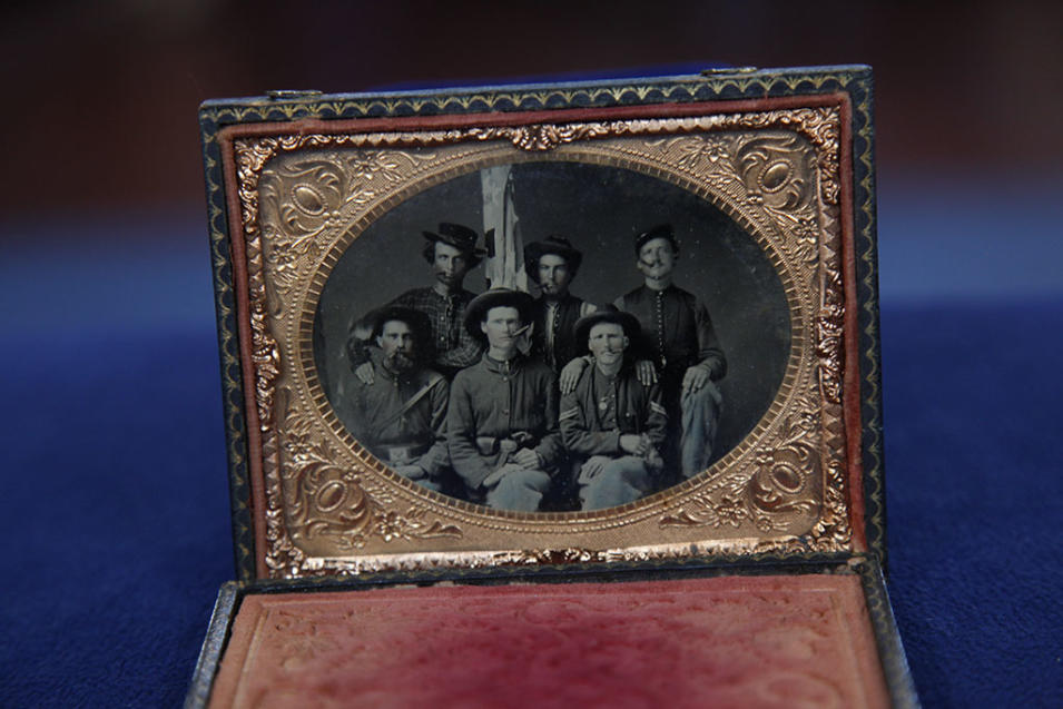"""Antiques Roadshow"" - Civil War tintype circa 1865"
