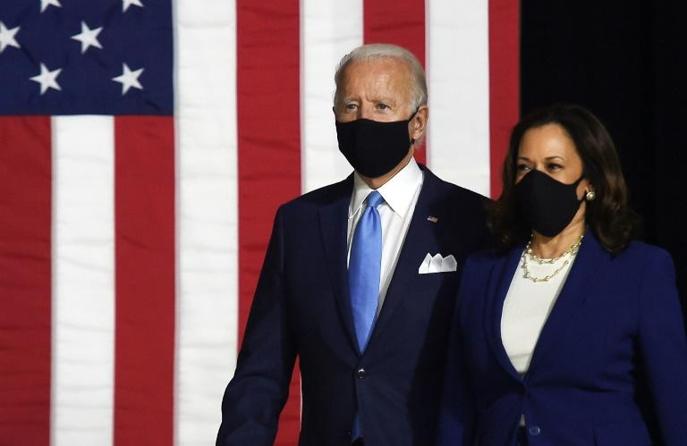 Biden, Harris vow to 'rebuild' America post-Trump