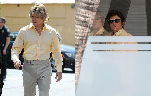 First pics of Matt Damon and Michael Douglas in Liberace biopic