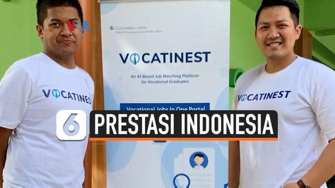 VIDEO: Tim Indonesia Menangkan Kompetisi di Columbia University