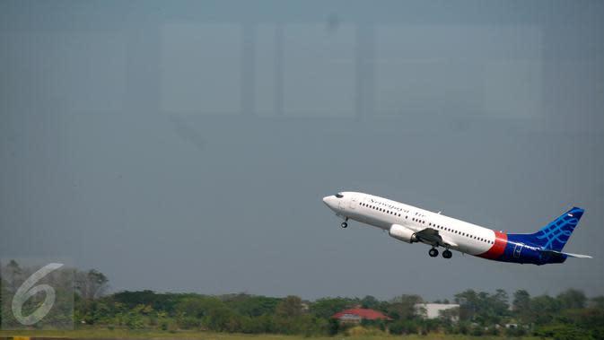 Pesawat Sriwijaya Air (Liputan6.com/Faisal R Syam)