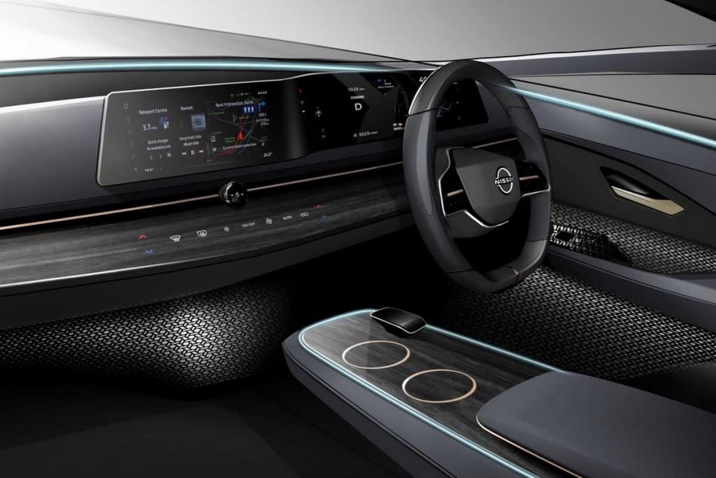 為什麼Nissan不採用平板式駕駛介面?讓Ariya Concept的「波浪」設計說分明