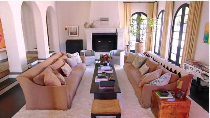Rumah Kendall Jenner. (dok. Screeshoot Youtube Architectural Digest/Dinny Mutiah)