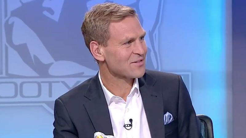 Kane Cornes ripped into Jordan Lewis on the weekend. Pic: Channel Nine