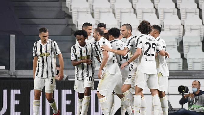 Liga Italia: Cristiano Ronaldo Cetak Gol, Juventus Pesta ke Gawang Sampdoria