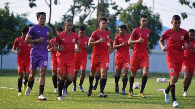 Pemain muda asal Brasil ikut latihan Persija Jakarta