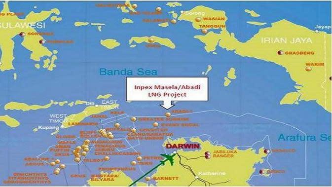 Rencananya, blok ini akan dikelola dua perusahaan yakni Inpex dan Shell.