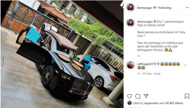 Denny Cagur - Raffi Ahmad (Foto: Instagram/@dennycagur)