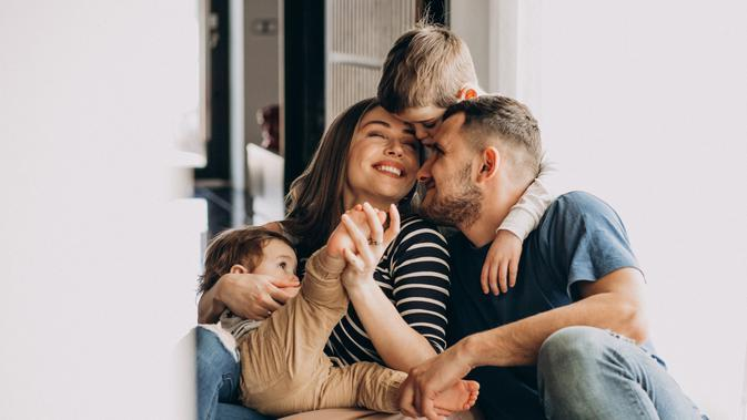 Ilustrasi Keluarga Bahagia Credit: pexels.com/pixabay
