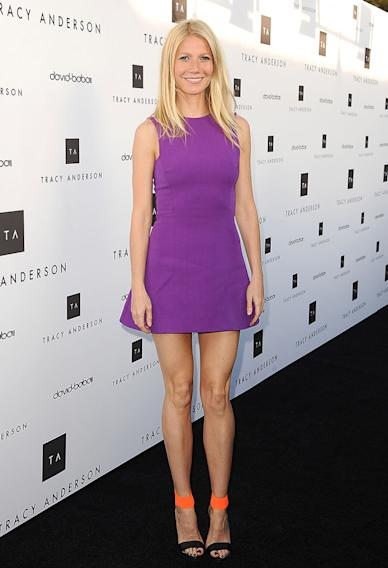 Gwyneth Paltrow And Tracy Anderson Celebrate Opening Of Tracy Anderson Flagship Studio