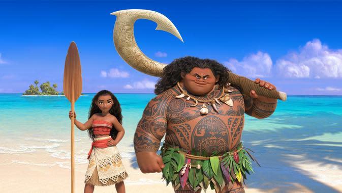 Film animasi terbaru Disney, Moana (IMDb)